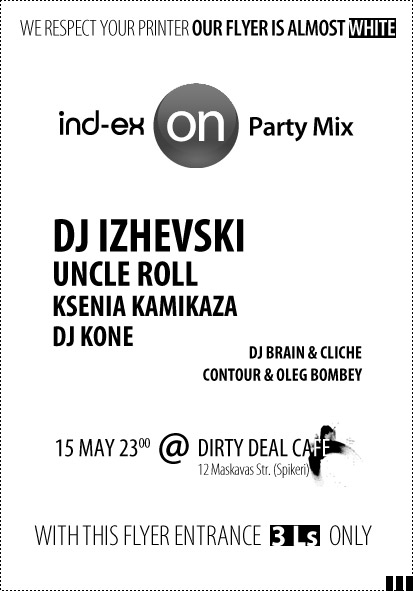 ind-ex On Party Mix